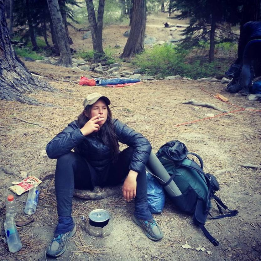 Buckhorn CG, PCT SoCal 2014 (Sorry Mom for smoking)