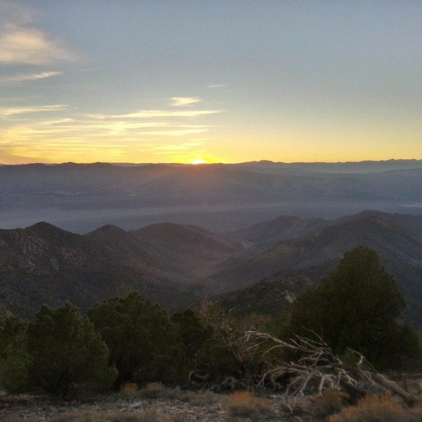 Sun setting from Telescope ridge photo credit: http://instagram.com/carrotquinn