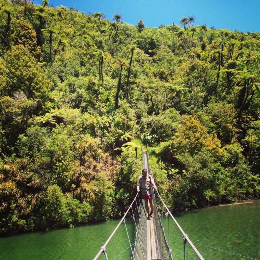 Bridge over the Otaki River