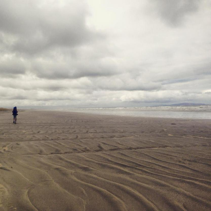 Beach walk from Riverton to Invercargill
