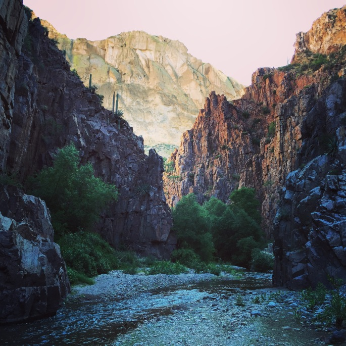 Aravaipa Canyon on the GET