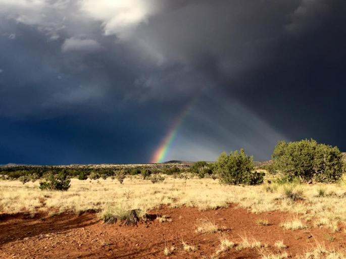 Rainbow: New Mexico: Grand Enchantment Trail